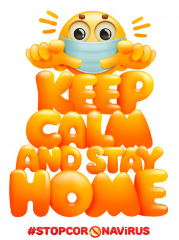 Image Credit: https://www.freepik.com/premium-vector/keep-calm-stay-home-coronavirus-self-quarantine-symbol-emoji-cartoon-character-mask_7318206.htm